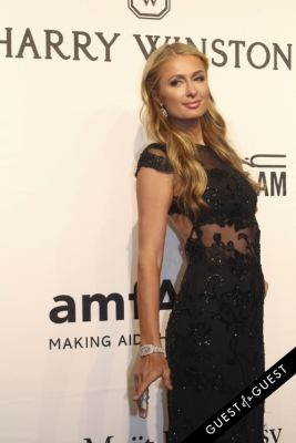 paris hilton in amfAR Gala New York