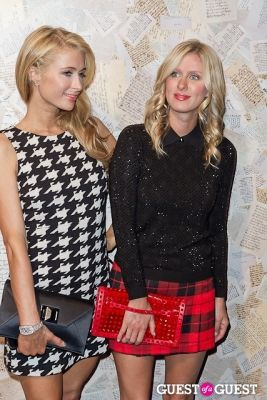 paris hilton in Alice and Olivia Presentation