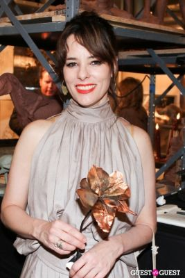 parker posey in New York Academy of Art's 2013 Tribeca Ball