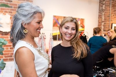 ana melendez in Kamila Dmowska Holiday Trunk Show