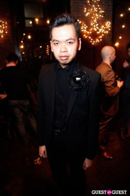 patrick dugan in Onassis Clothing and Refinery29 Gent's Night Out