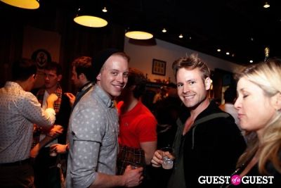 dan george in Onassis Clothing and Refinery29 Gent's Night Out
