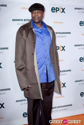 patrick ewing in Amar'e Stoudemire In The Moment Premiere