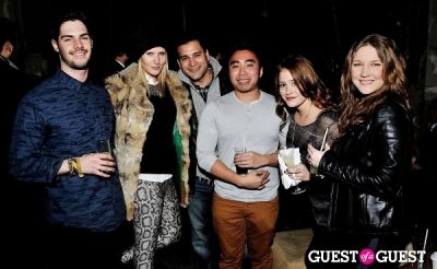 louis sarmiento in Menswear Dog's Capsule Collection launch party