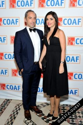 patrick sarkissian in COAF 12th Annual Holiday Gala