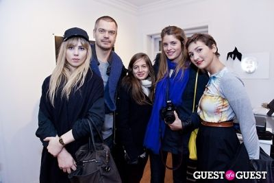 lorraine michot in Galerie Mourlot Livia Coullias-Blanc Opening
