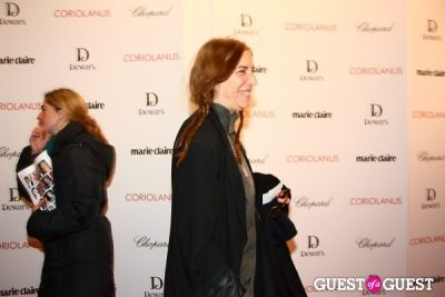 patti smith in Coriolanus NY Premiere