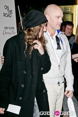 patti smith in NY Premiere of ON THE ROAD