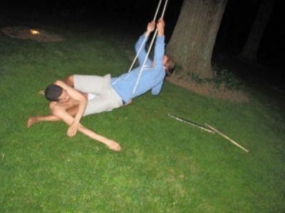 paul johnson-calderon in Socialites in Hamptons
