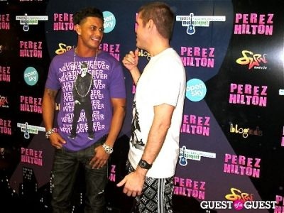 pauly d in Perez Hilton's One Night in NYC /Open Sky Project