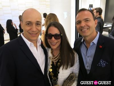 leonardo davalos in Chanel Bal Harbour Boutique Re-Opening Party And Dinner
