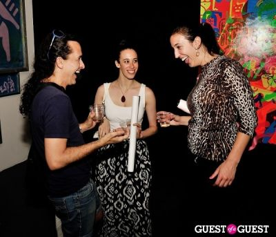 pedro osorio in FLATT Magazine Closing Party for Ryan McGinness at Charles Bank Gallery