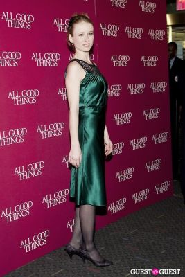 pepper binkley in All Good Things Premier