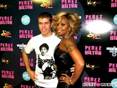 mary j.-blige in Perez Hilton's One Night in NYC /Open Sky Project