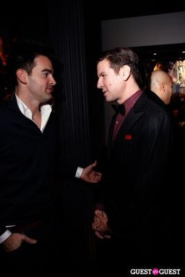 peter davis in Onassis Clothing and Refinery29 Gent's Night Out