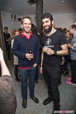 peter pawlick in The Skinny Dipping Report Launch Party