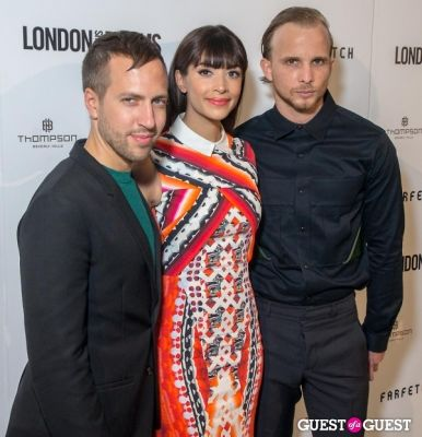 christopher de-vos in British Fashion Council Present: LONDON Show ROOMS LA Cocktail Party