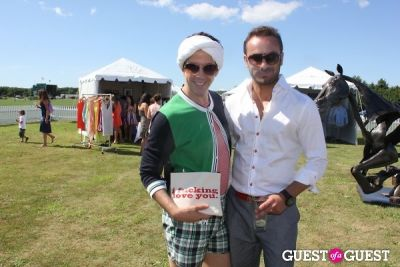 peyman umay in Bridgehampton Polo 2012