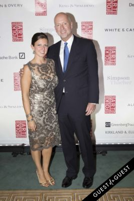 peyton cochran-and-richard-walker in American Folk Art Museum Gala Cocktail Hour