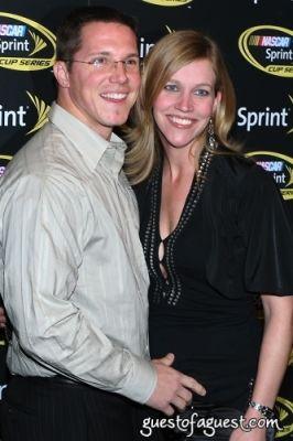 phil kelley in NASCAR CHamp Celebration Red Carpet