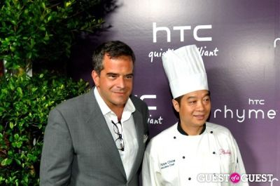 philippe chow in HTC Serves Up NYC Product Launch