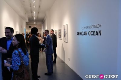 philippe hoerle in Conor Mccreedy - African Ocean exhibition opening
