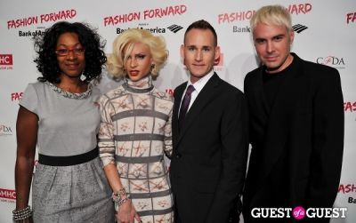 david blond in Fashion Forward hosted by GMHC