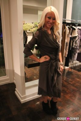 phu styles in StyleHaus and Frederic Fekkai Holiday Event