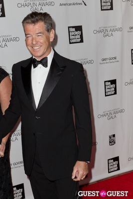 pierce brosnan in 40th Annual Chaplin Awards honoring Barbra Streisand