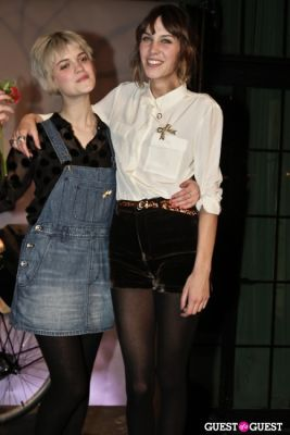 pixie geldof in Alexa Chung for Madewell Party