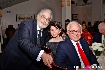 placido domingo in Pampano Botaneria Grand Opening