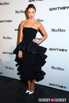 polina proshkina in 2013 Whitney Art Party