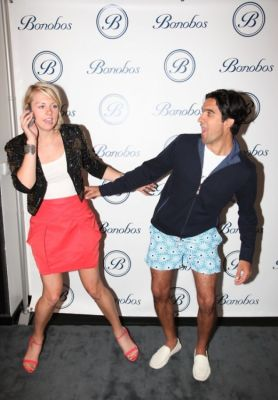 andy dunn in Bonobos Swimtrunk Launch