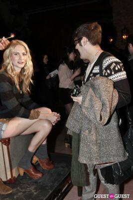 poppy delevigne in Alexa Chung for Madewell Party