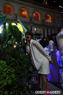 portia adney in Diner en Blanc NYC 2013
