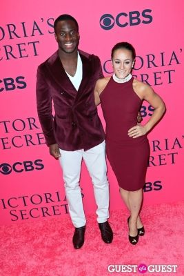prince amukamara in 2013 Victoria's Secret Fashion Pink Carpet Arrivals