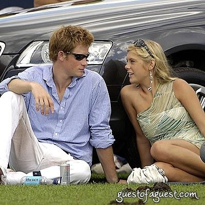 prince harry in Cartier Polo '08