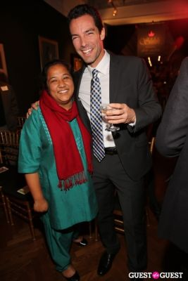 francois caillaud in 2012 CNN Hero of the Year Pushpa Basnet Fete