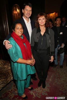 susan sarandon in 2012 CNN Hero of the Year Pushpa Basnet Fete