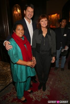 thomas morgan in 2012 CNN Hero of the Year Pushpa Basnet Fete