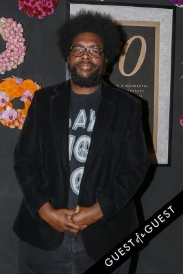 questlove in EN Japanese Brasserie 10th Anniversary Celebration