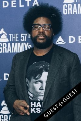questlove in Delta Air Lines Kicks Off GRAMMY Weekend With Private Performance By Charli XCX & DJ Set By Questlove