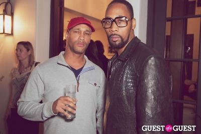 rza in RWS LA Book Party Celebrating