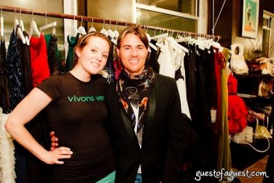rachael eagens in The Green Room NYC Presents a Trunk Show and Cocktails