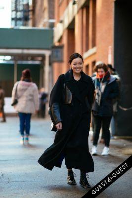 rachael wang in NYFW Street Style Day 7