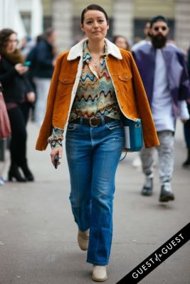 rachael wang in Milan Fashion Week PT 2