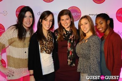 shaylin major in Daily Glow presents Beauty Night Out: Celebrating the Beauty Innovators of 2012