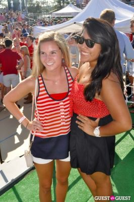 rachel lowe-and-maddie-fumi---ole-miss-students! in 3rd Annual Red, White and Boom