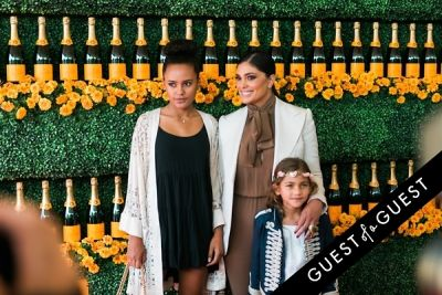 ava dash in The Sixth Annual Veuve Clicquot Polo Classic Red Carpet