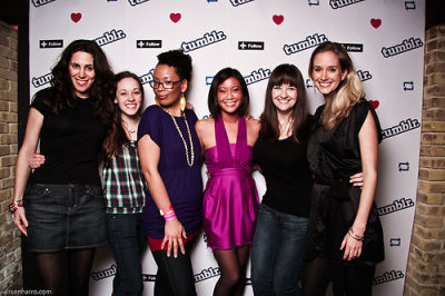 rachelle hruska in Tumblr's SXSW Party